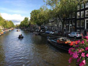 アムステルダム、運河