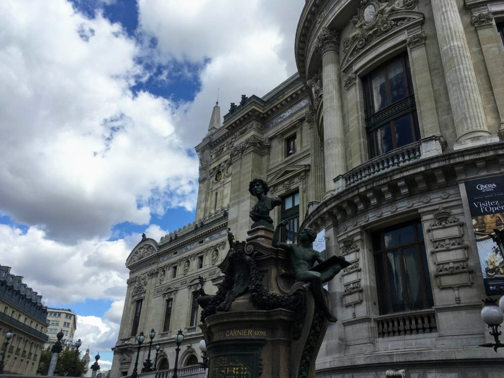 フランス-パリ-オペラ座-ガルニエ宮外観