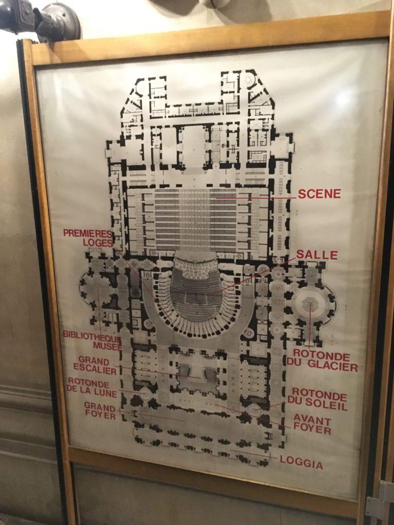 フランス-パリ-オペラ座-ガルニエ宮内部見取り図