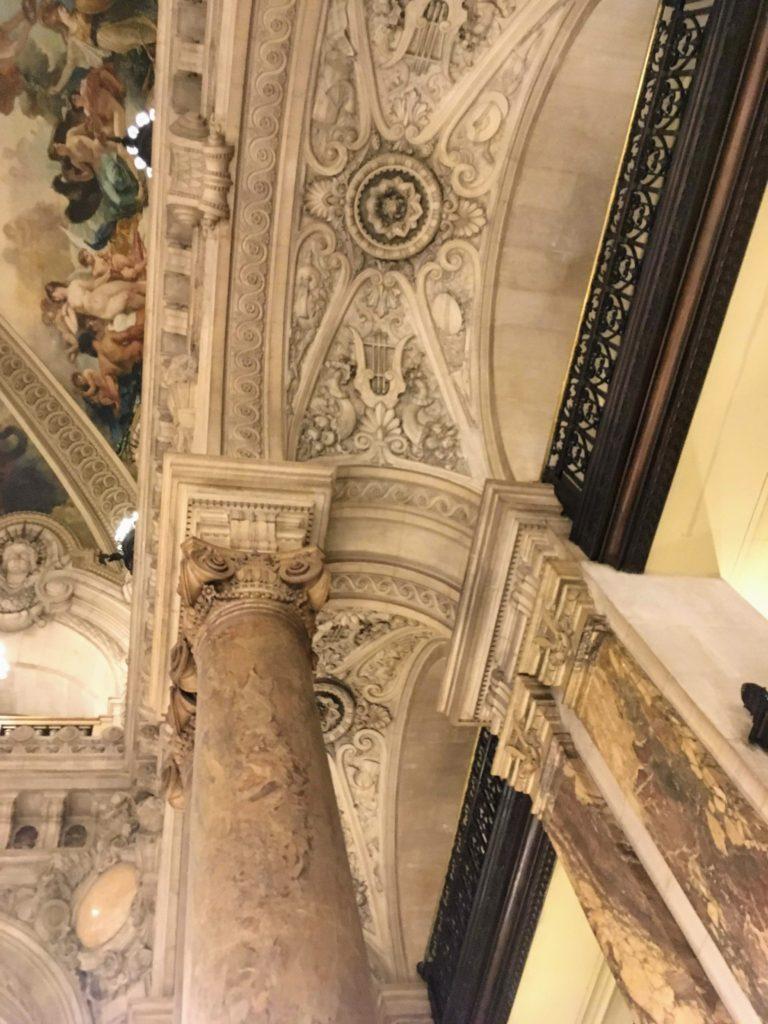 フランス-パリ-オペラ座-ガルニエ宮内観-装飾