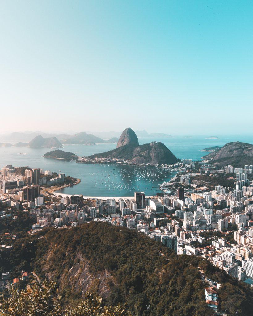 ブラジル、リオデジャネイロの風景